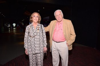Sylvia Castro de Brum y Rafael Brum