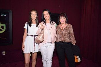 Valentina Castro, Adriana Vieira y Graciela Bruno