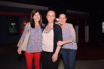 Yanina Bardavid, Andrea Ponfilio y Lorena Bardavid