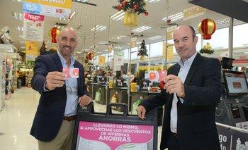 Santiago Illa, Gerente de Compras de Grupo Disco y Juan Manuel Gasparri, gerente de Banca Persona de Santander