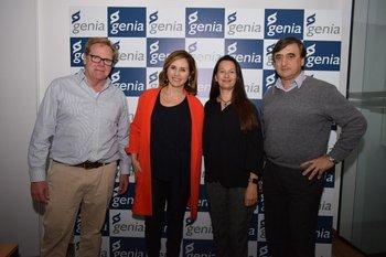 Carlos Azambuja, Luciana Lasus, Alejandra Torres y Rodolfo Presno