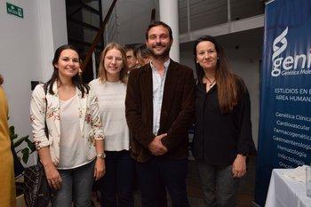 Leticia Repetto, Sara Quiroga, Nicolás Grasso y Alejandra Torres