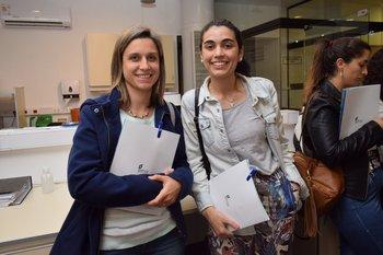 Alejandra Souteras y Sabrina Bagnasco