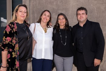 Sabrina Bianchi, Marcela Mailhos, Cecilia Bello y Federico Banchieri