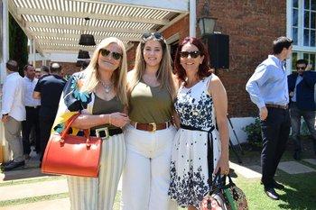Noemi Ruiz, Sofia Vassallo y Anabel Grottola