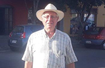 Juan José Senattore, presidente de la Asociación Agropecuaria de Artigas.