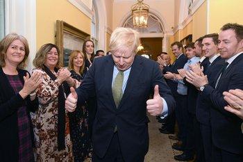 Boris Johnson salió victorioso de las elecciones celebradas la semana pasada en el Reino Unido