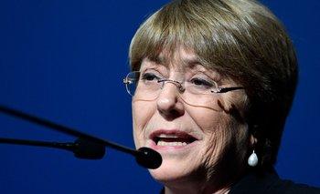 Michelle Bachelet, alta comisionada para los Derechos Humanos