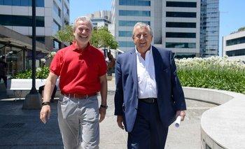 Ernesto Kimelman y Carlos Lecueder