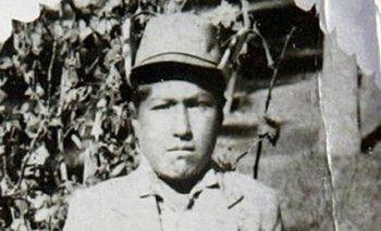Una imagen de Evo Morales cuando tenía siete años.