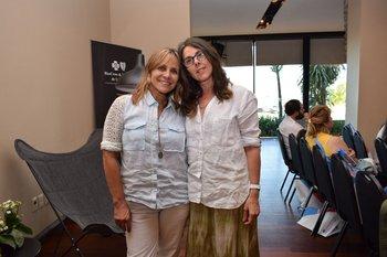 Olguita Garcia Pintos y Gaby Garcia de Zuñiga