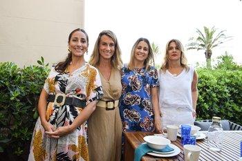 María José Firreri, Ana Delisante, Sofia Saravi O