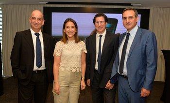 Daniel Fuentes, Carina Novarese, Tacuabe Terradas y Guzmán Elola