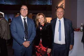 Jorge Beltran, Cristina Bogacz y Eduardo Martinez