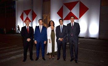 Alberto Mello, Geoffrey Fitche, Isabel Mira, Nicolás Pastore y Federico Cordeiro