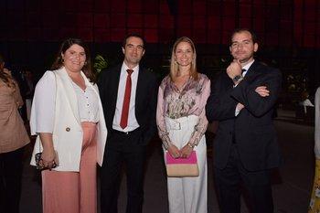 Belén Álvarez, Lucas Traverso, Ana Basalo y Juan Pablo Falcon