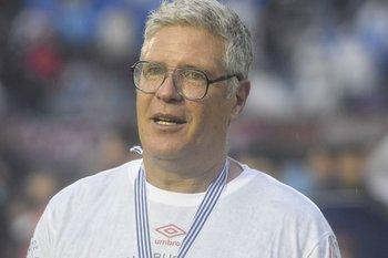 El Guti, dos veces campeón con Nacional