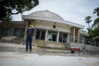 El Planetario tuvo obras que remodelaron su estructura y funcionamiento en 2019.