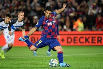 Con 191 goles, Luis Suárez es el cuarto goleador histórico de FC Barcelona