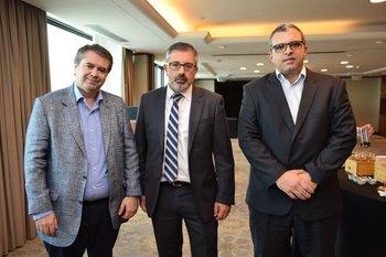 Mauricio Castellanos, Adrian Souto y Gonzalo Pérez