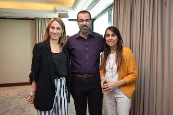 Emiliana Beati, Fernando Meijide y Ana Coronel