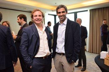 Joaquin Morixe y Gerardo San Vicente