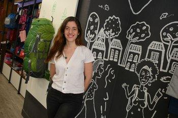 Ginny Ferraz, co-fundadora de Trotamundos