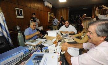 La reunión de trabajo entre los actuales y los futuros jerarcas del MGAP.