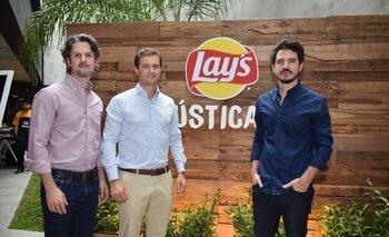 Luis Rizzo, Federico Hirts y José De Carli