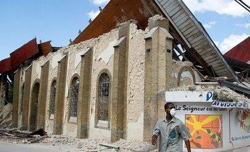 Imagen del terremoto de 2010, del cual el país aun no se recuperó por completo.