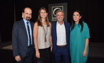 Eduardo Ipogrosso, Ana Inés Maranges, Norbert Monfort y María Eugenia Mones