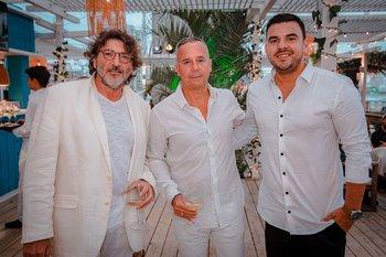 Javier Socol, Aníbal Nieves y Juancho Gutierrez