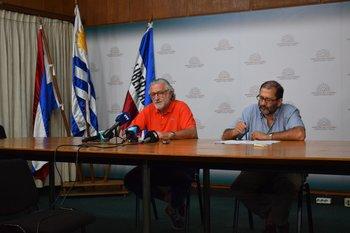 José Gaggero y Marcelo Rodríguez.
