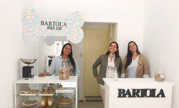 Micaela Rossi, Silvia Samurio y Manuela Rossi