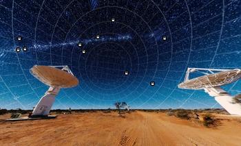 Este nuevo telescopio en Australia ya ha mapeado un millón de nuevas galaxias.