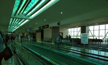 El aeropuerto de Panamá luce mucho más vacío que lo normal