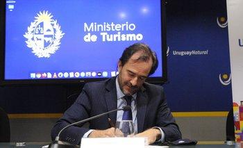 El ministro de Turismo, Germán Cardoso, le respondió a Liliam Kechichian por las críticas al hotel de Rocha. Foto: archivo