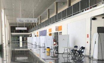 Así están quedando las mesas para las elecciones de Peñarol en el Antel Arena