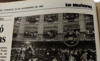 Diario La Mañana - 16 noviembre de 1986