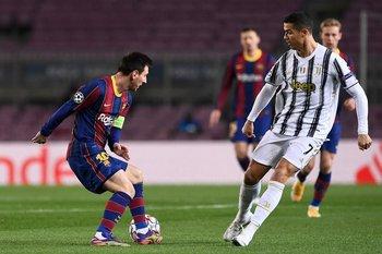 Messi y Cristiano, dos genios