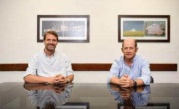 Luis Gallo Pieri, Gerente General de Teyma y Alejandro Fynn, Presidente de Teyma.
