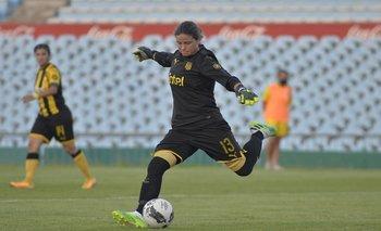 Sofía Olivera, una de las figuras de Peñarol