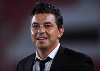 Marcelo Gallardo, entrenador de River