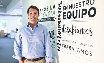 Juan Manuel Parada es director general de Tienda Inglesa, una cadena que se comprometió con los uruguayos en este difícil año y que para esta Navidad redobló esfuerzos.
