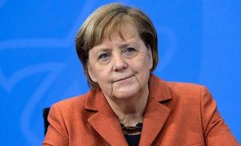Angela Merkel anunció medidas a través de una conferencia de prensa virtual