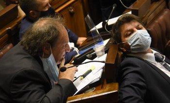 El diputado Rafael Menéndez acusó al legislador colorado Felipe Schipani