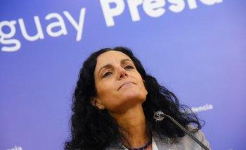 La ministra de Economía y Finanzas Azucena Arbeleche.