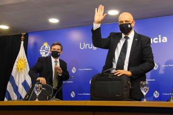 Conferencia de prensa del GACH