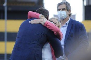El abrazo de Ruglio
