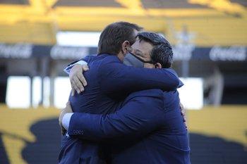 Ignacio Ruglio y Jorge Barrera